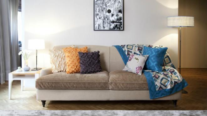 divano in velluto