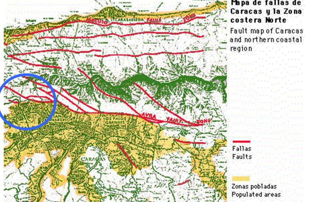 Mapa De Caracas