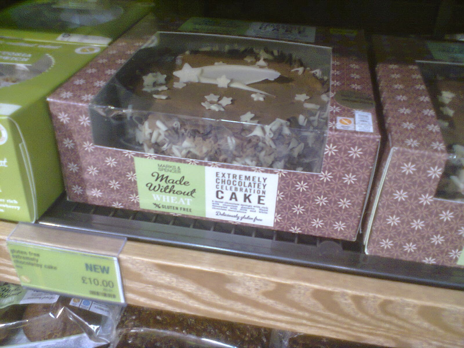The Made Without Wheat Extremely Chocolatey Celebration Cake by M&S
