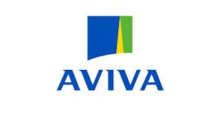 Le logo de la société Aviva assurances auto