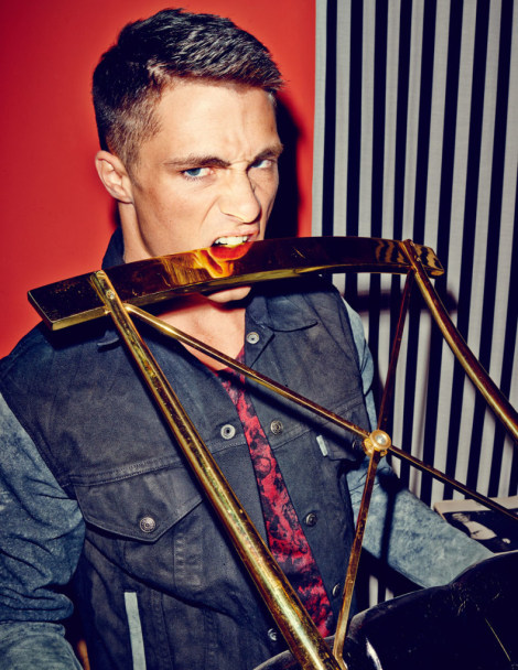 Colton Haynes by Eric Ray Davidson for Flaunt Magazine