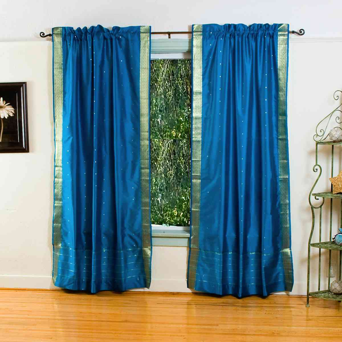 Blue curtains for living room - Curtains Blue Titere Con Bonete Iwanna Wednesday All Things Bright And Beautiful