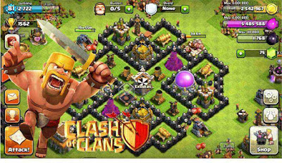 Base Kotak TH8 COC