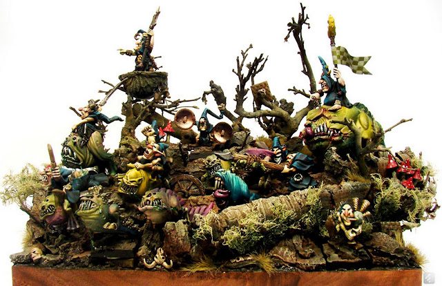 Expert Golden Demon Miniatures Diorama