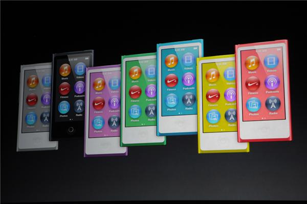 ipod nano 5 colors