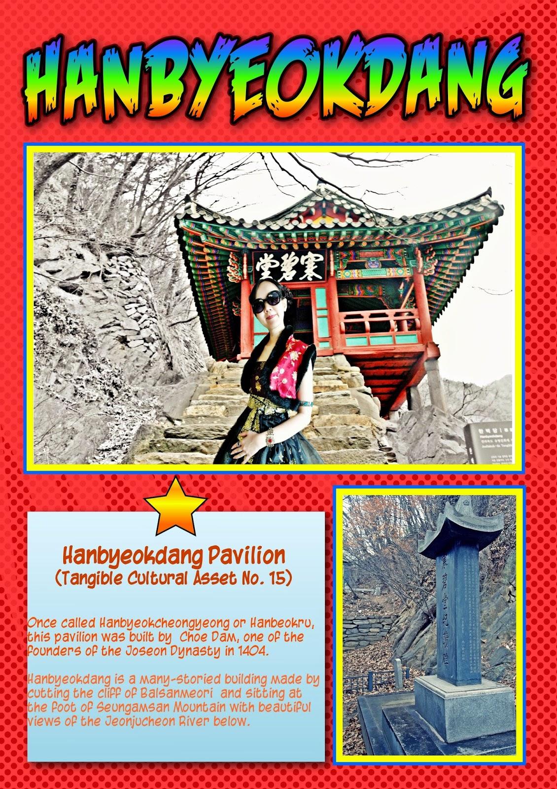 Must visit: Jeonju Hanbyeokdang Pavilion 한벽당 | meheartsoul.blogspot.com