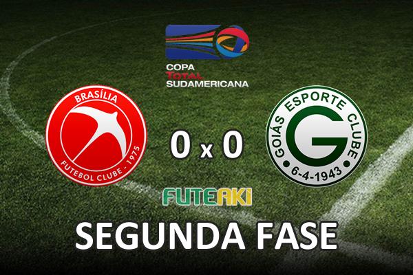 Veja o resumo da partida com os melhores momentos de Brasília 0x0 Goiás pela segunda fase da Copa Sul-Americana 2015.