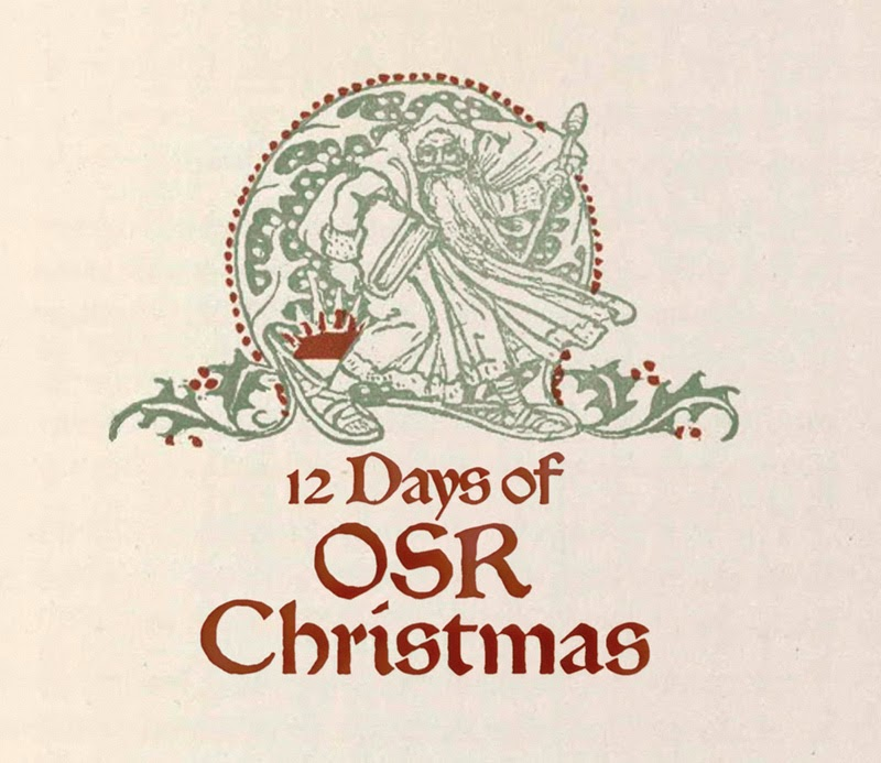 12 Days of OSR Christmas