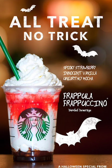 Halloween Treat from starbucksph