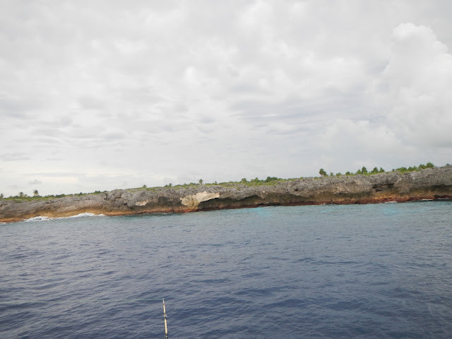 Anchorage at Niau atoll