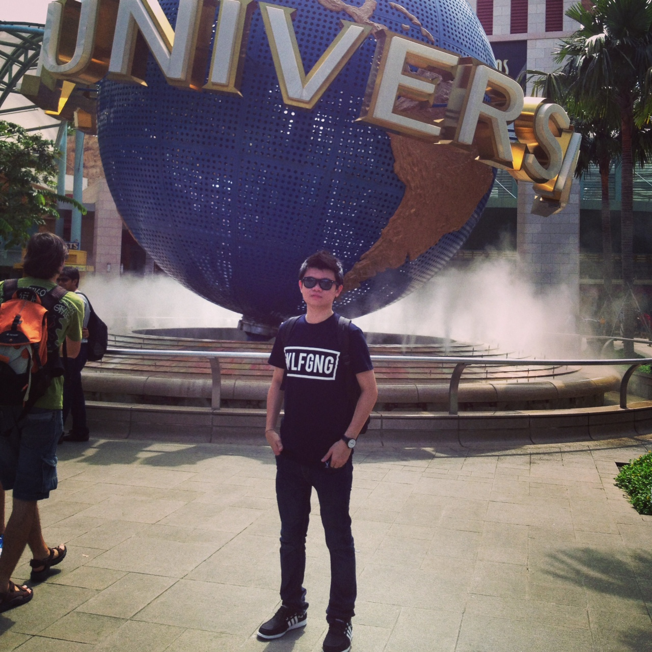 SECOND TIME IN UNIVERSAL STUDIOS SINGAPORE!