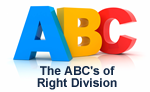 ABC's of Right Division