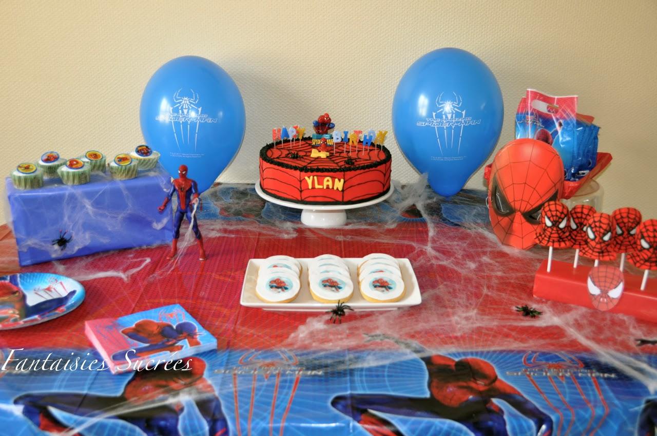 Gateaux d'anniversaire spiderman
