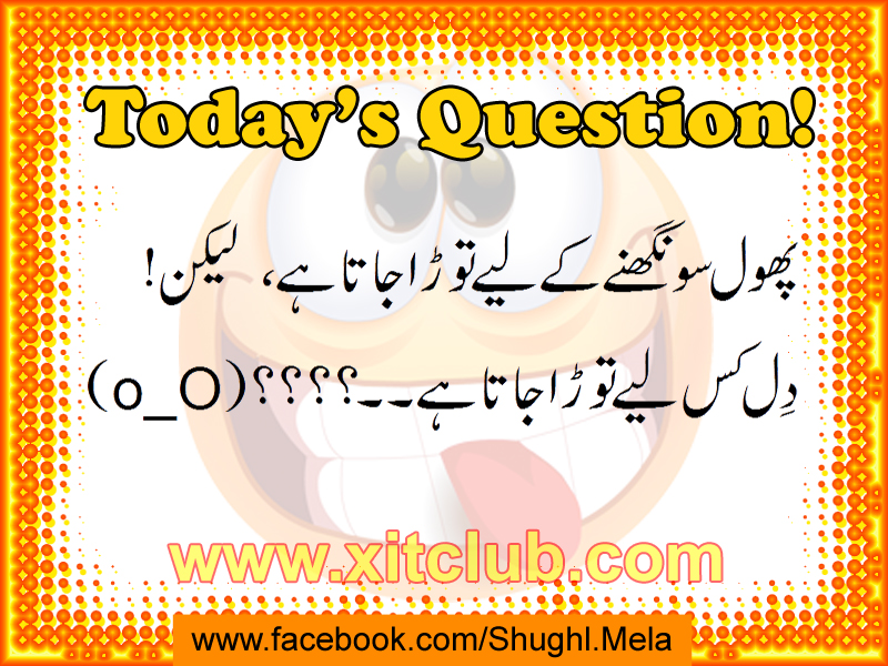 Interesting Questions To Ask In Urdu Latest Funny Ur...
