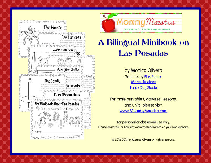 Mommy Maestra: Las Posadas Lesson Plans, Crafts, Activities, and Music