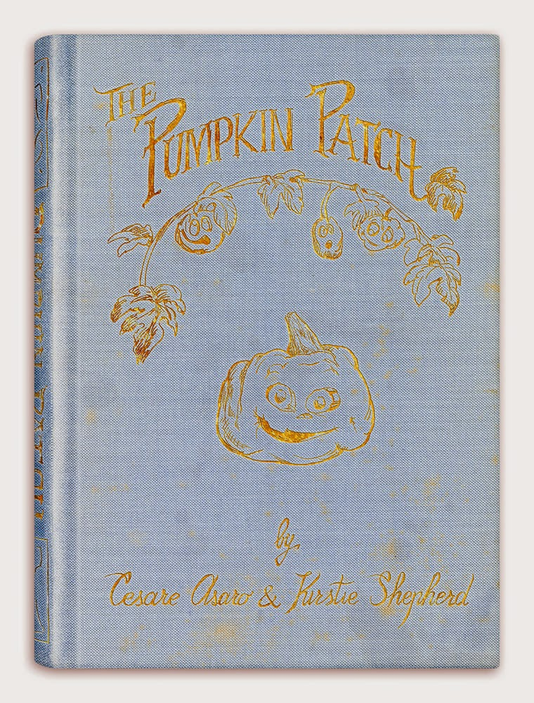 The Pumpkin Patch by Cesare Asaro & Kirstie Shepherd - Book Cover - jackolantern - Curio & Co (Curio and Co. OG - www.curioandco.com)