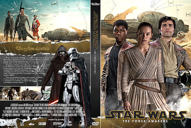 Capa DVD Star Wars The Force Awakens