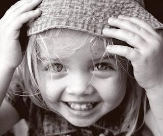 sonrisa de niña