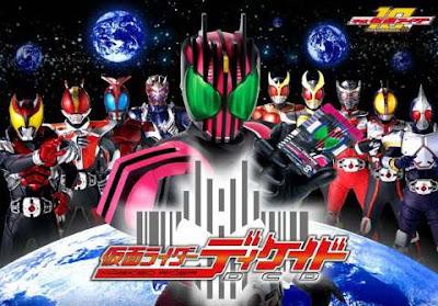 Kamen Rider Decade - Episodios Online