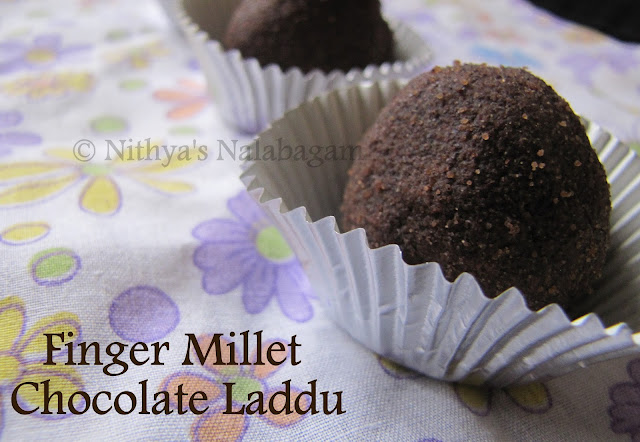 Ragi Chocolate Laddu