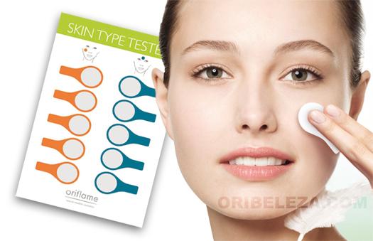 Testes para Tipo de Pele Oriflame