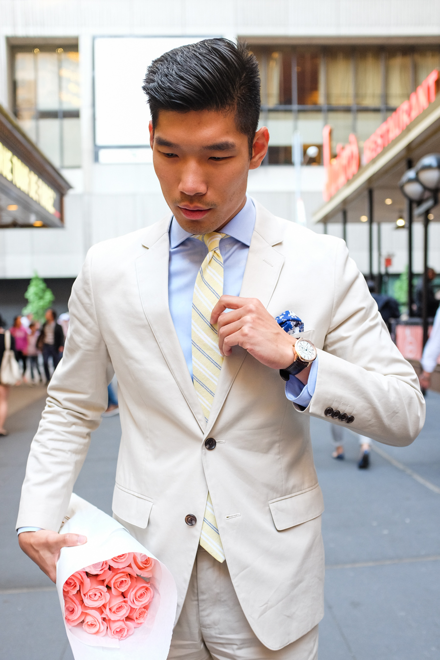 Levitate Style | Summer Bonobos Cotton Suit, SprezzaBox