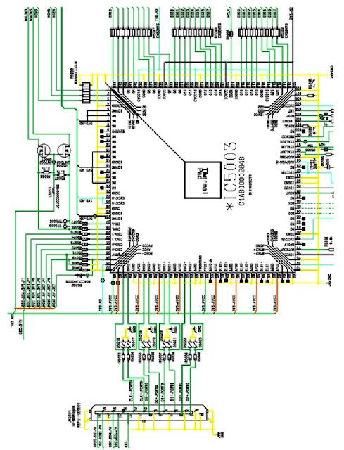 Hình 32a - Mạch xử lý tín hiệu HDMI