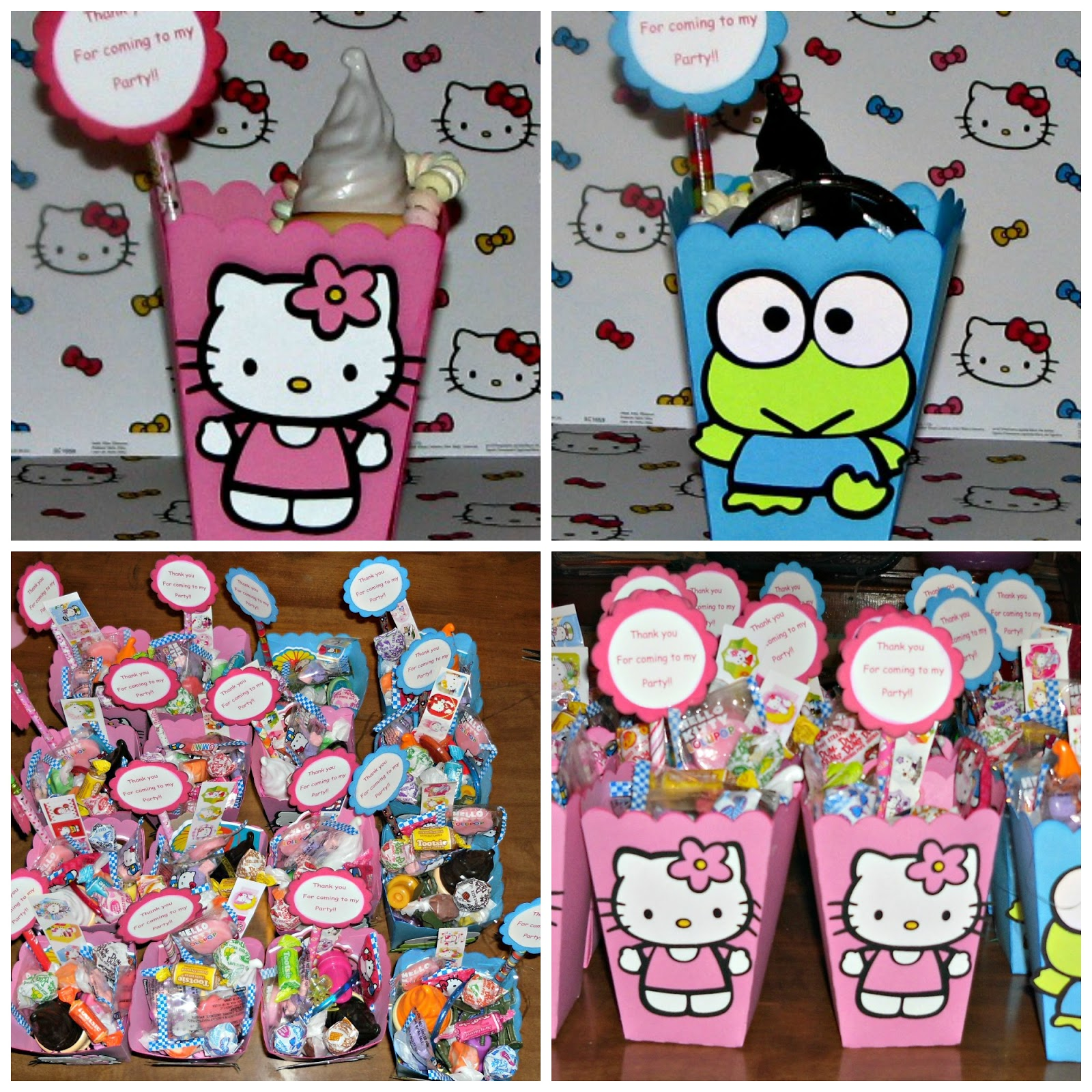 Creations by colleen hello kitty birthday party - Hello kitty birthday images ...