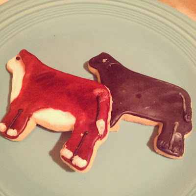Cow Cookies For Wedding Desert