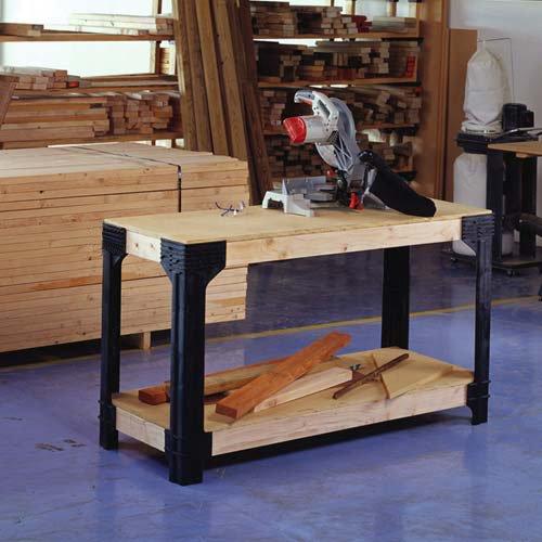 Custom Heavy Duty Workbench