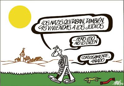 Viñeta de Forges en El País del 15 de abril de 2013