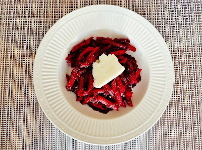 Farro Spaghetti with Beets, Browned Butter, and Poppy Seeds