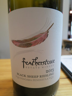 Featherstone Black Sheep Riesling 2013 - VQA Niagara Peninsula, Ontario, Canada (88+ pts)
