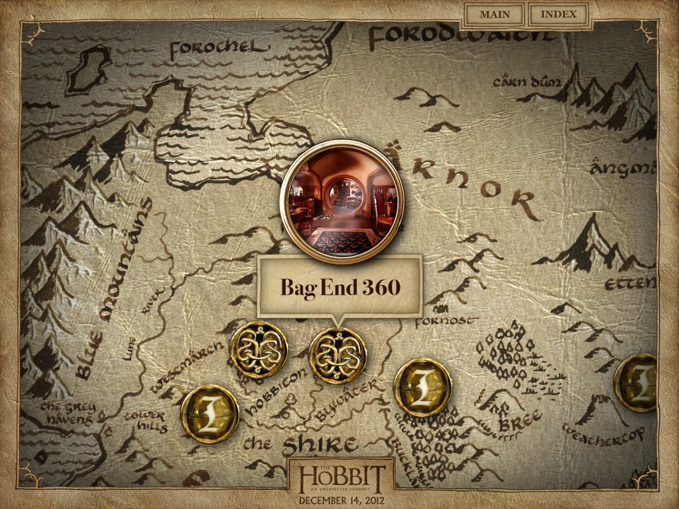 MarketSaw 3D Movies Gaming and Technology The Hobbit iOS App – 3d Map of Middle Earth