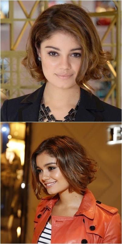 Corte de cabelo das famosas