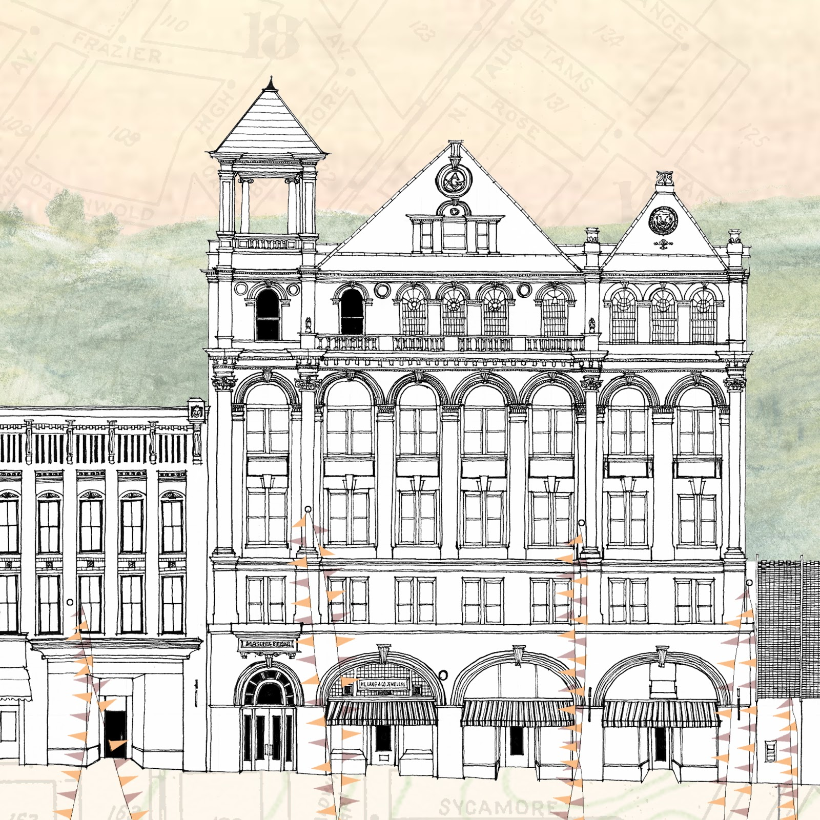 Turn of the centuries staunton virginia 39 s west beverley for Printing architectural drawings