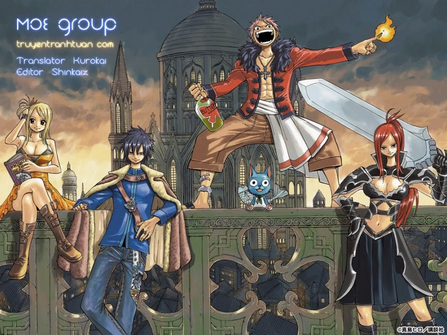 TruyenHay.Com - Ảnh 1 - Fairy Tail Chap 366