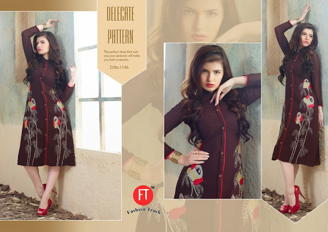 Rubee – New Designer Georgette Kurtis Collection