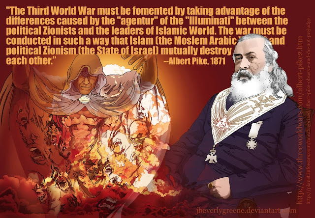 Albert Pike's Letter Exposes Illuminati Plan For World War 3