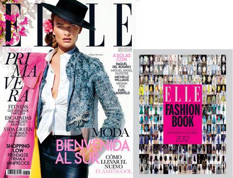 elle, primavera, moda, estilo, shopping, fashion book, 2012, primavera verano, portada, marzo
