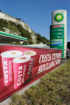 George Hammond, Dover South site. Today, BP partners with 300 Wild Bean Coffee and 170 M&S Simply Food outlets according to Fuel Market Review, Forecourt Trader 2013