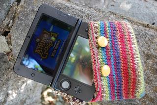 pochette au tricot Nintendo DS XL