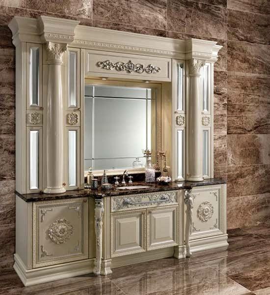 Thiết kế nội thất và ánh sáng đèn trang trí phòng tắm sang trọng như phòng khách