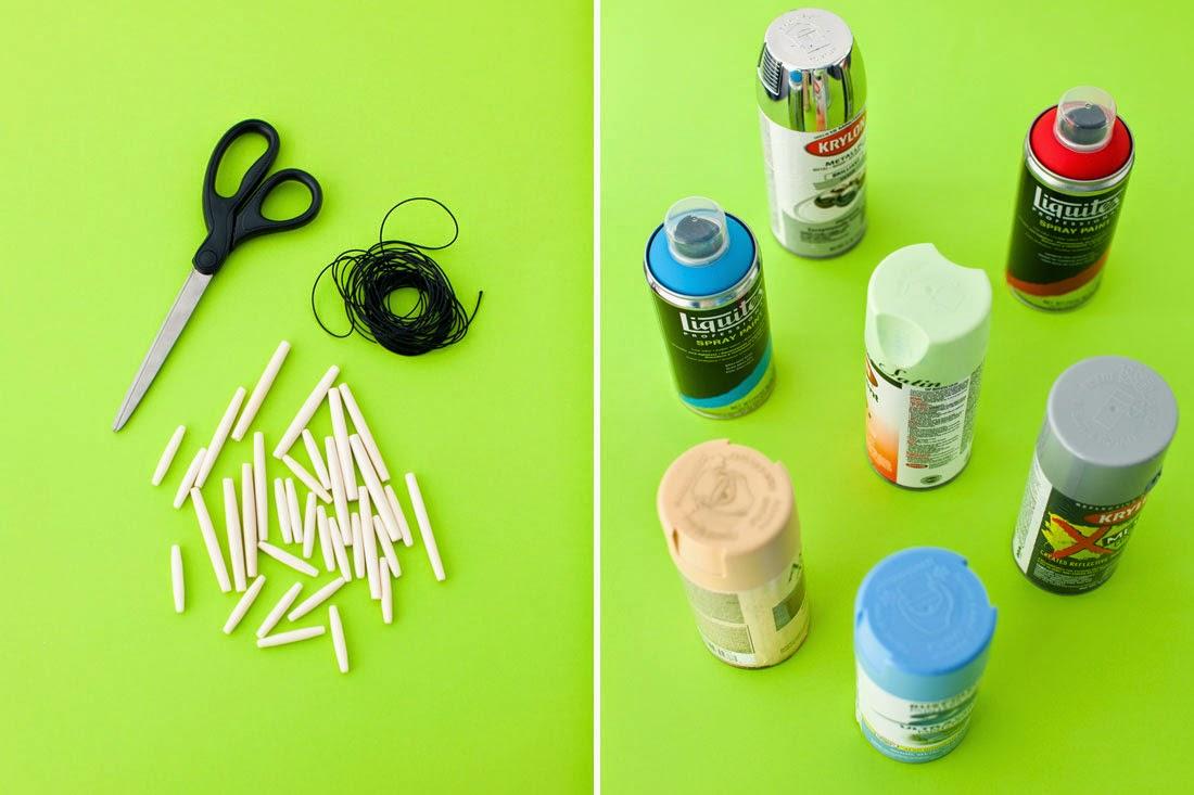 DIY, Collar con Cuentas de Madera