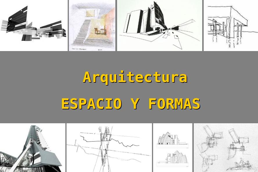 Apuntes revista digital de arquitectura formas y for Arquitectura definicion