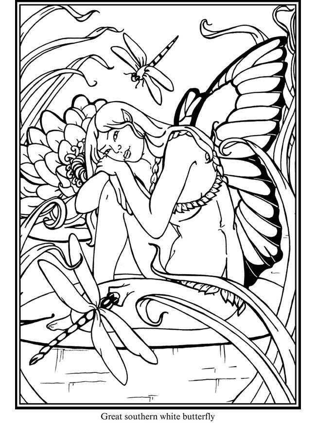 Expose homelessness each of us unique and in transition for Butterfly fairy coloring pages