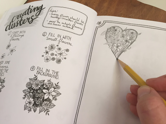 The Botanical Hand Lettering Workbook from Bethany Robertson.