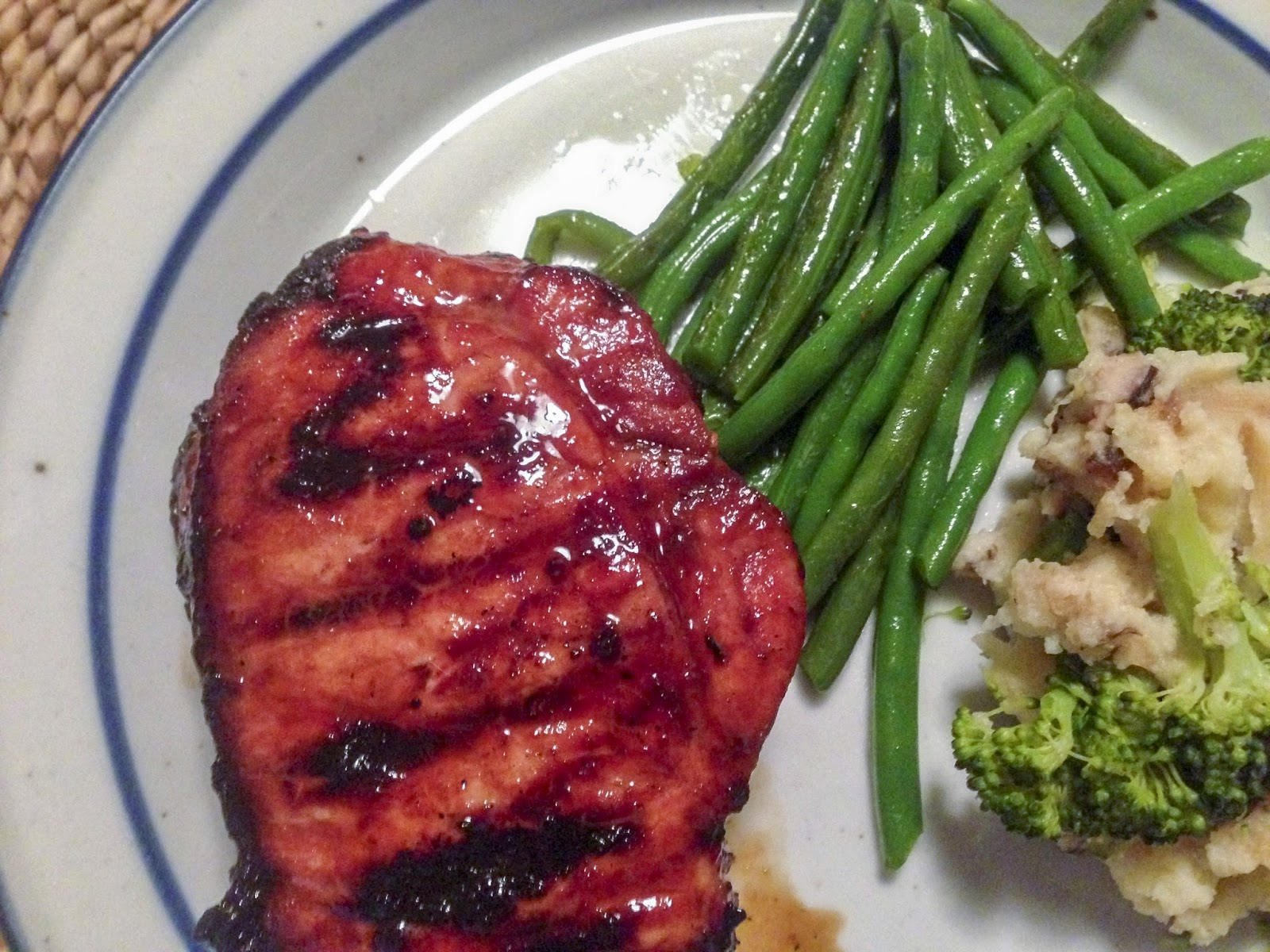 Hoisin-Marinated Pork Chops Recipe — Dishmaps