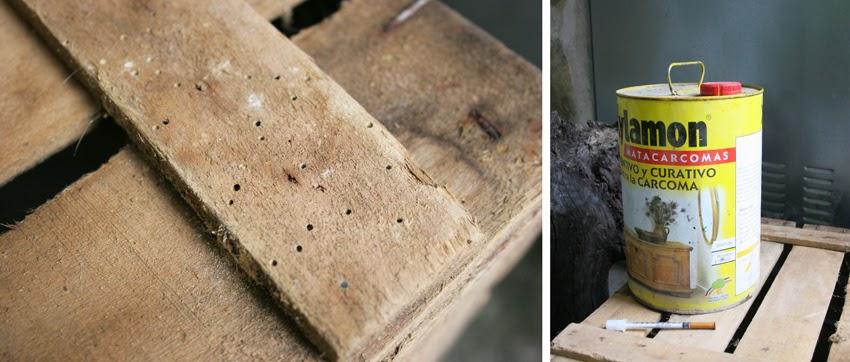 Como eliminar la carcoma de la madera3