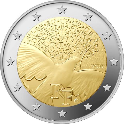 2 euro France 2015